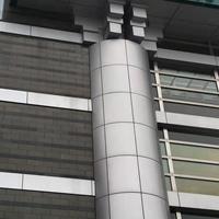 护柱包柱铝单板-包柱装饰铝板定制