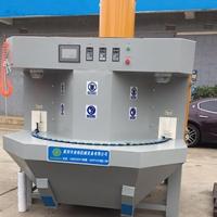 转盘多功能湿干式喷砂机可变频调速多工位