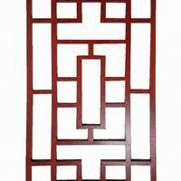 木纹铝窗花隔断厂家直销窗户铝窗花规格定制