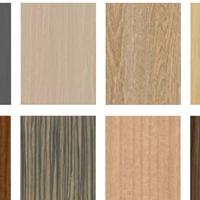 覆膜铝板 木纹覆膜 PP环保装潢膜