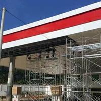 南京高速服务区加油站铝条扣天花