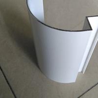 高光白色包柱铝圆角加油站柱子装饰