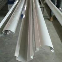 中石化加油站包柱高光白色铝型材现货6米
