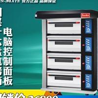 三麦四层十六盘微电脑控制面板电烤炉
