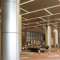 中庭柱子包柱铝单板 方柱包柱铝单板