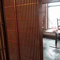 供应川国演义餐厅隔断屏风-铝单板铝方通
