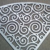 潮流造型铝单板定制 户外雕花铝单板