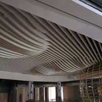 弧形造型铝方通吊顶定制厂家