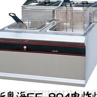 新粤海EF-904商用双缸双筛电炸炉