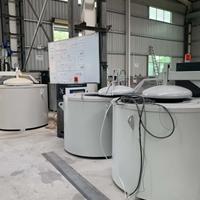 500KG坩堝爐 鋁合金熔解保溫爐