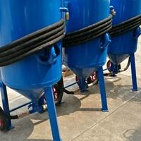 泉源厂家供应移动开放式喷砂机
