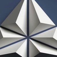 双曲铝单板高难度异形铝板供应
