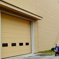 厂房铝合金工业提升门
