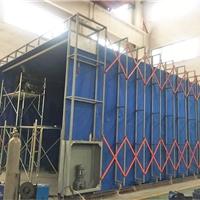 博兰德环保喷漆房用于液压机械行业,可定制