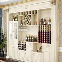 欧式铝合金酒柜铝材全铝家居柜体型材批发