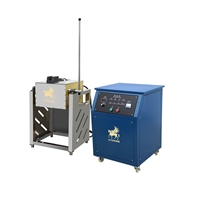 廠家直銷分體傾倒熔煉爐,金銀加工熔銅爐
