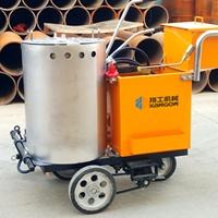生产的熔料快的热熔划线机