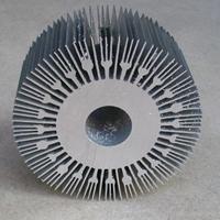 专业挤压太阳花散热器铝型材厂家中奕达