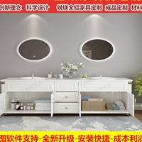 全铝家具品牌太空铝浴室柜全铝阳台柜铝材
