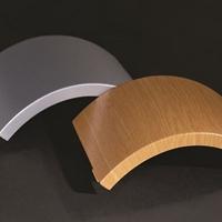 弧形包柱铝单板木纹包柱铝单板供应