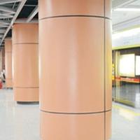 弧形包柱铝单板材料包柱铝单板供应