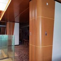 木纹造型包柱铝单板厂家生产订做