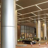 包柱鋁單板-鋁單板柱子-弧形包柱鋁單板