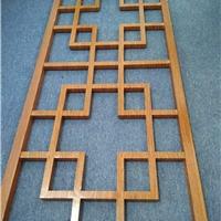 焊接铝花格-仿古铝花格