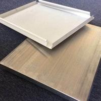 雨棚防风铝扣板-长条形铝条扣吊顶