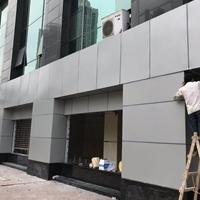 雨棚装饰铝单板-走道包边铝板定制