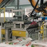 码垛生产线 移动式袋料包装码垛机械手