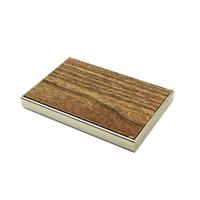 供应20mm氟碳仿木纹铝蜂窝板