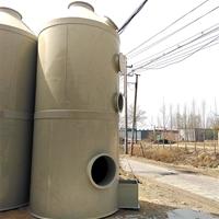 PP喷淋塔催化燃烧成套废气处理除味设备
