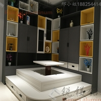 定制家用全铝榻榻米床卧室全铝衣柜家具