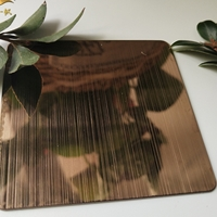 玫瑰金不锈钢板 拉丝玫瑰金不锈钢板生产