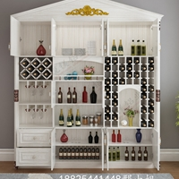 定制全铝酒柜欧式家具全铝书房书柜