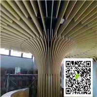 走廊方条吊顶-木纹铝方通厂家
