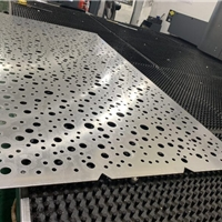 影城造型镂空铝板-冲孔铝单板加工