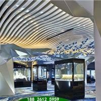 造型铝方通-木纹色弧形铝方通-异形铝方通