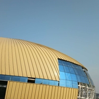 1.0厚氟碳漆YX25-430鋁鎂錳屋面板