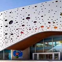 惠州外墙雕花铝板 2mm厚大门雕花铝板