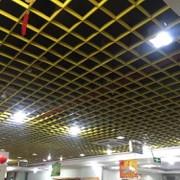喷涂铝格栅吊顶 结构细腻铝格栅天花