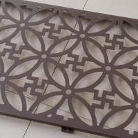 艺术冲孔幕墙铝板-外立墙艺术镂空铝板