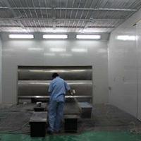 高品質木業環保噴漆房定做生產,伸縮噴漆房