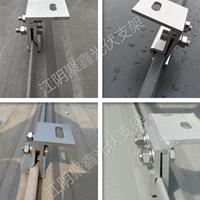 各种型号直立锁边夹具彩钢瓦屋顶专项使用配件