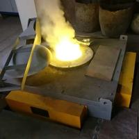 东莞熔铜炉 500KG熔铜电炉
