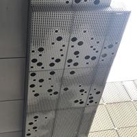 冲孔图案样式铝单板-穿孔铝单板加工
