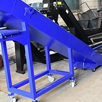 排屑机链板刮板排削器金属废料输送机
