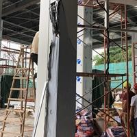 柱子保护弧形铝板-墙身弧形包柱供应