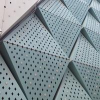 外墙铝单板幕墙-冲孔铝单板生产定制